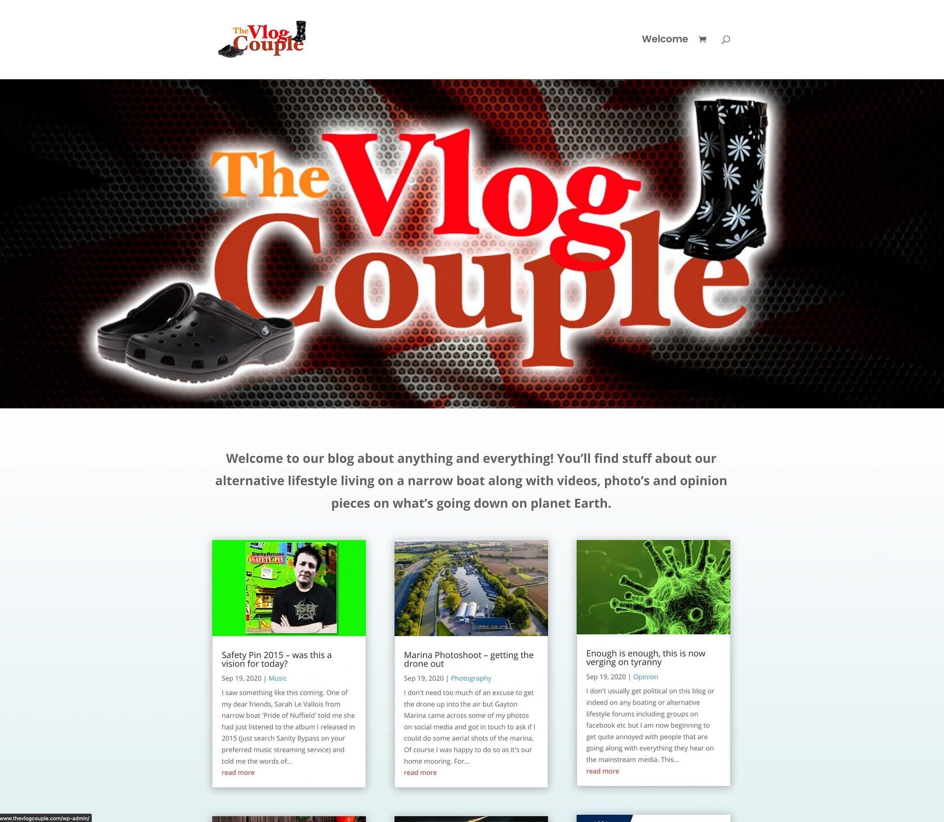 Blog Style Website