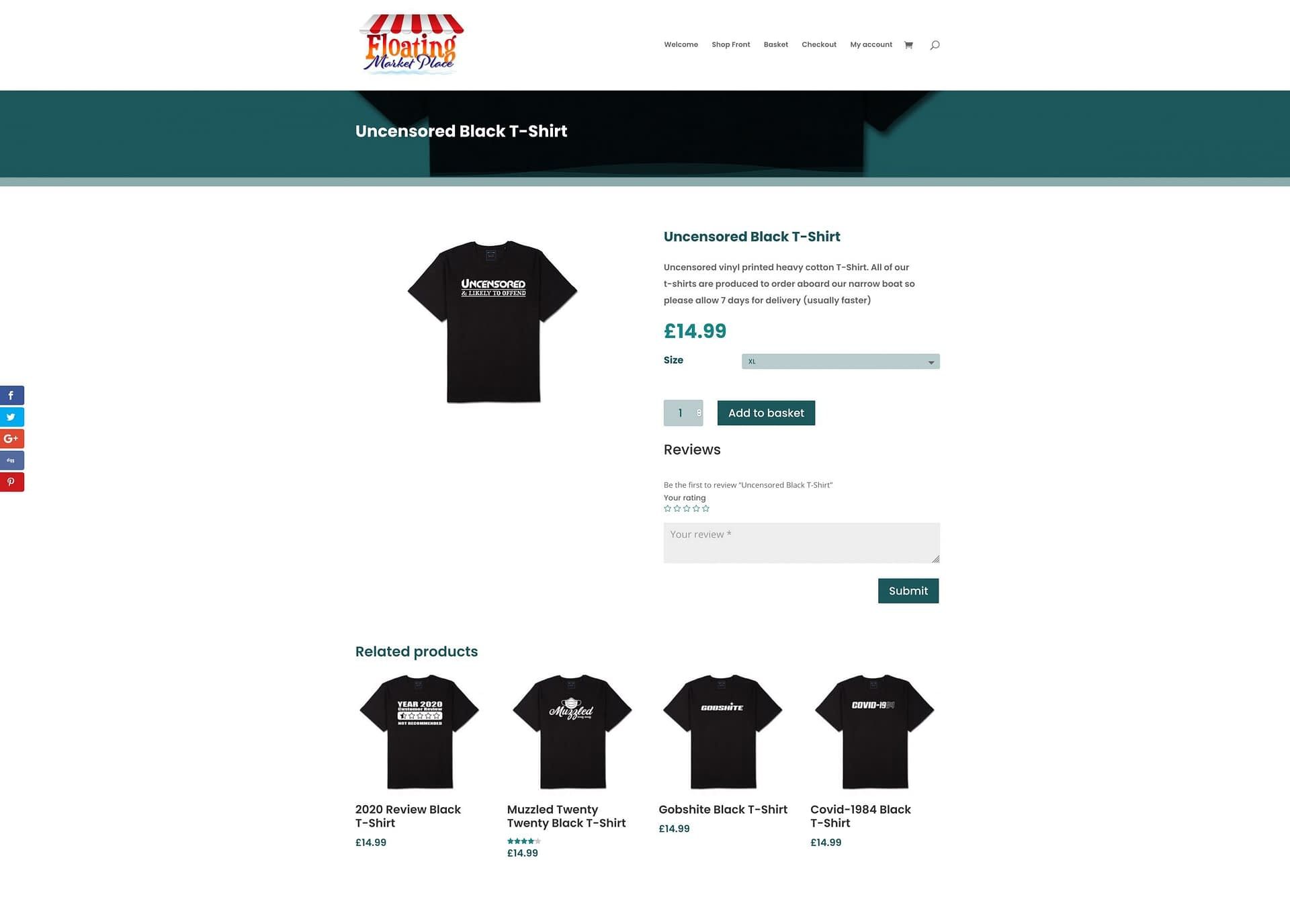 Buy Product Page